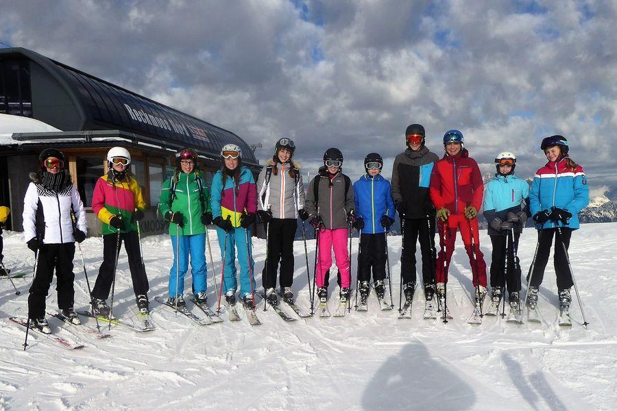 Betreutes Skifahren