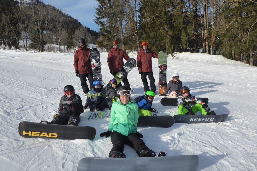 Snowboard-Kurs Stufe 1 und 2