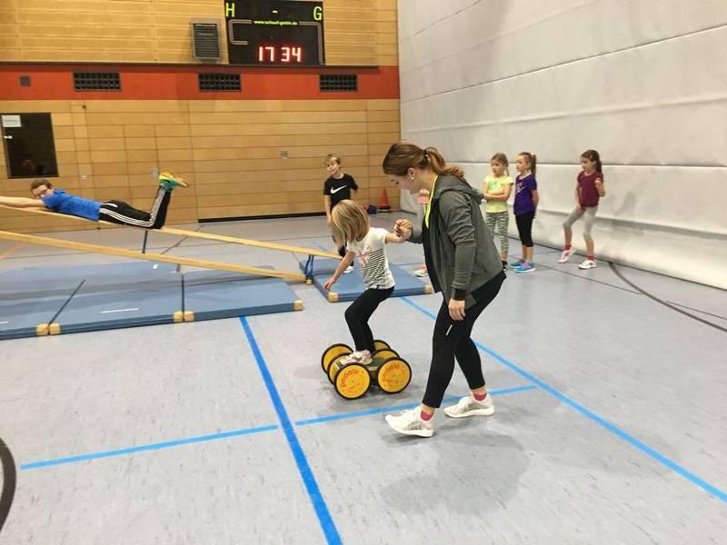 Kinder-Skigymnastik