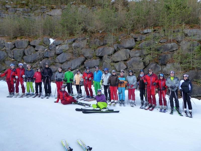 Genussskifahren zum Saisonende