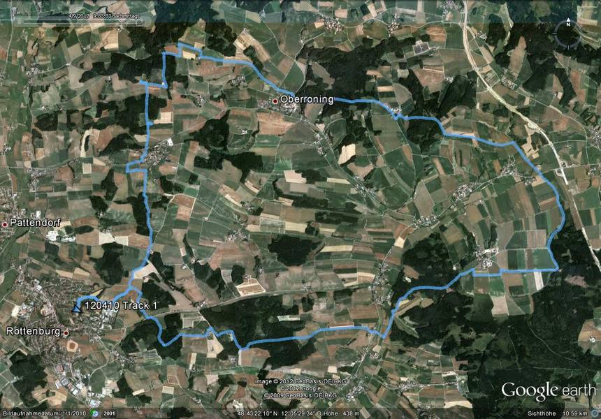 Mountainbike Strecke 01