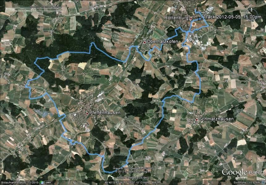 Mountainbike Strecke 03