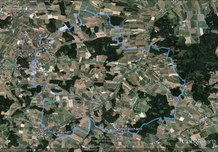 Mountainbike Strecke 04