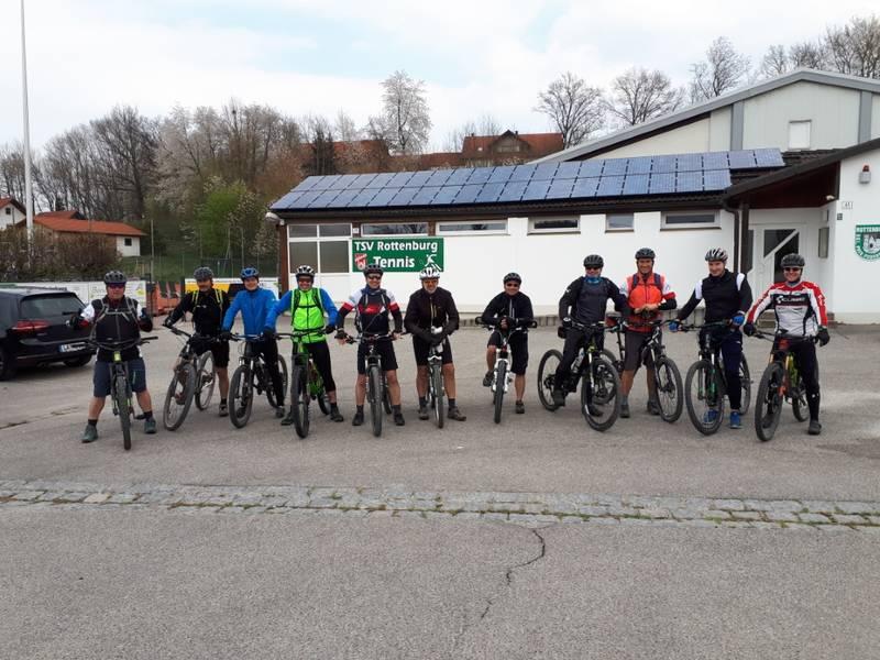 Mountainbiketreff startet