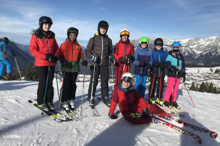 Betreutes Skifahren in Söll
