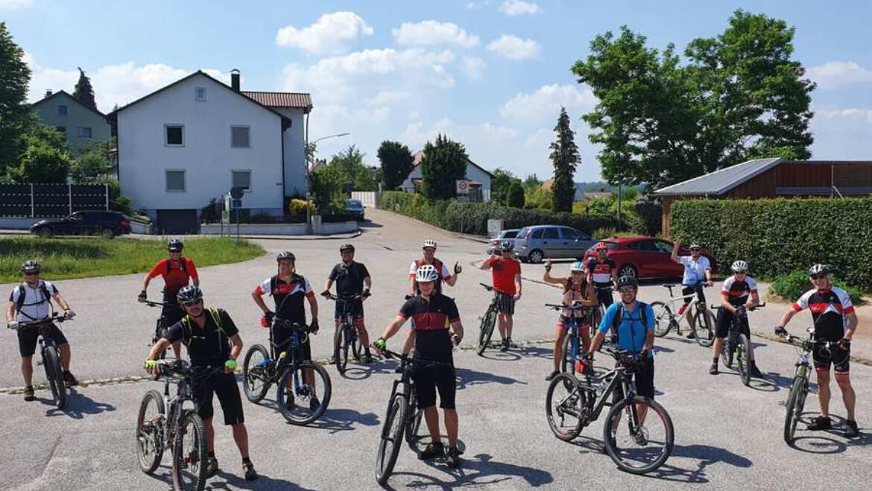 Skiclub startete mit Mountainbiken