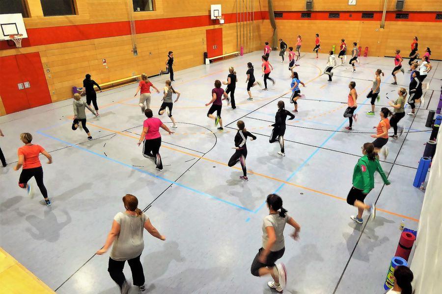 Tanz-und-Fitness-Workout