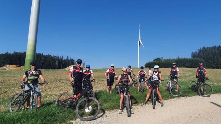Mountainbike Windräder