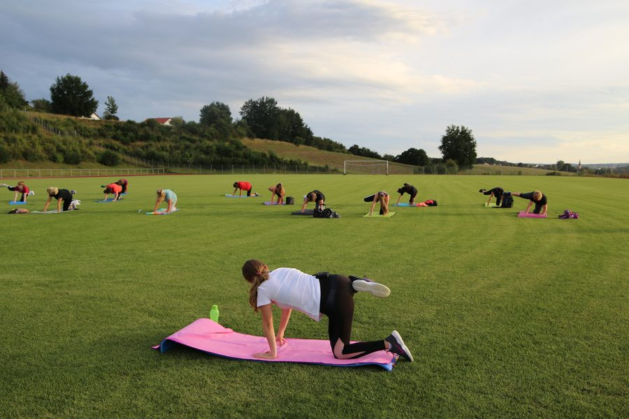 Tanz und Fitness Workout