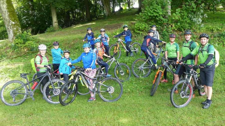 """Mountainbike-Tour begeisterte """"Nachwuchs"""""""