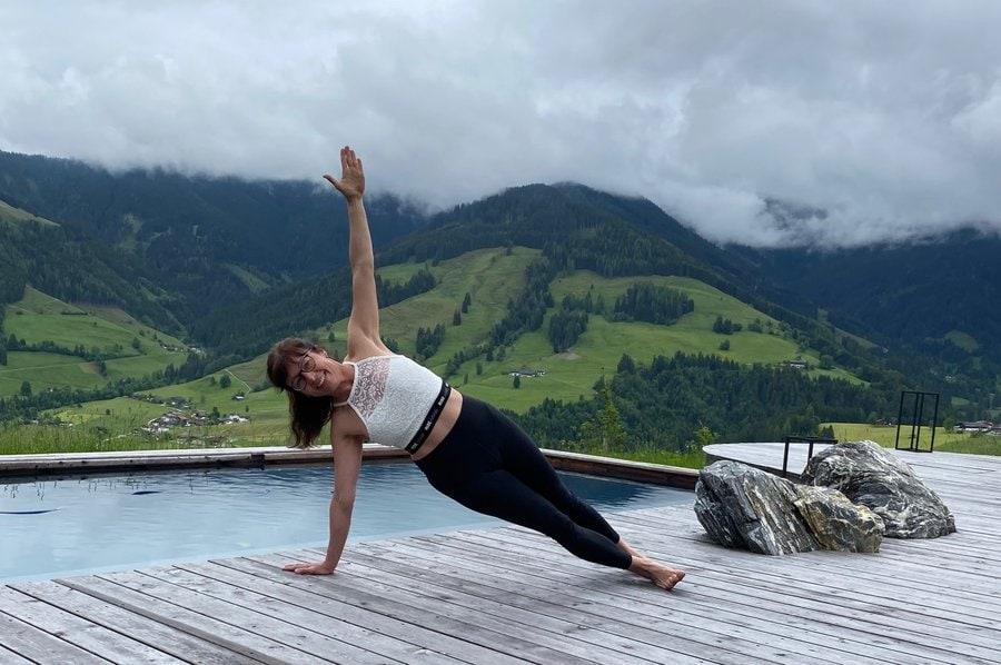 Yoga – digital über Zoom